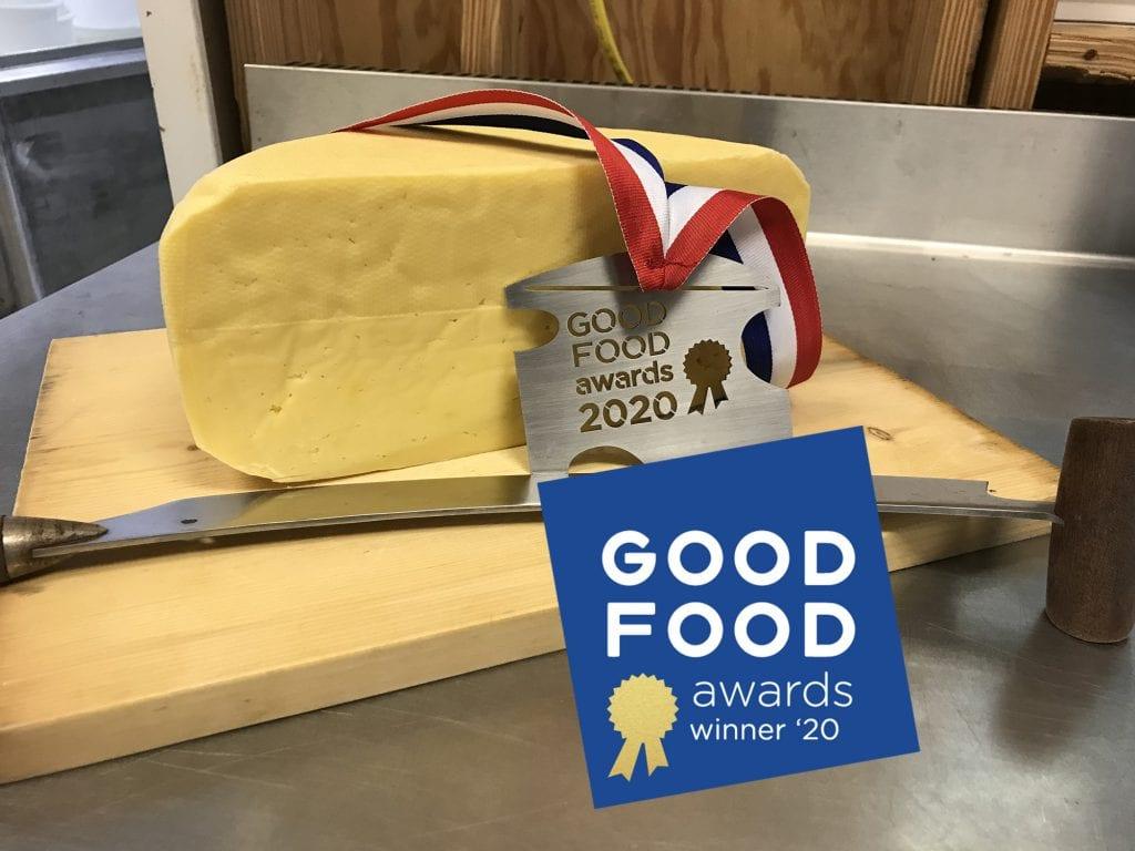 Local Farmstead Cheese a 2020 Good Food Awards Winner