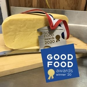 Local Farmstead Cheese a 2020 Good Food Awards Winner