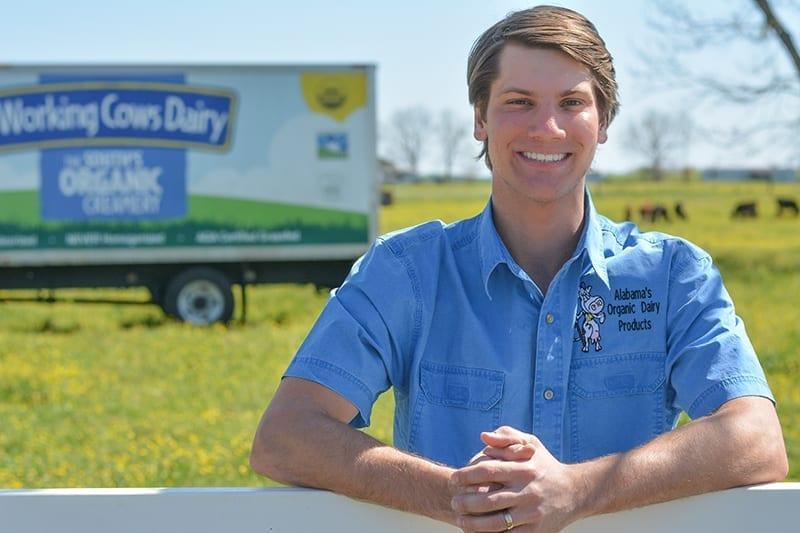 Ike de Jong of Working Cows Dairy