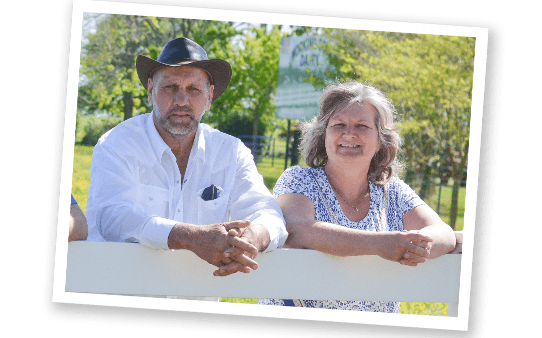 Jan and Rinske de Jong owners of Working Cows Dairy