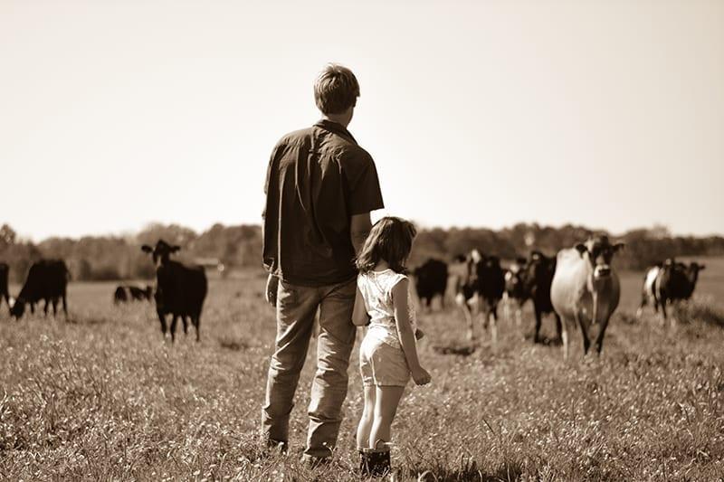 Jonny de Jong of Working Cows Dairy