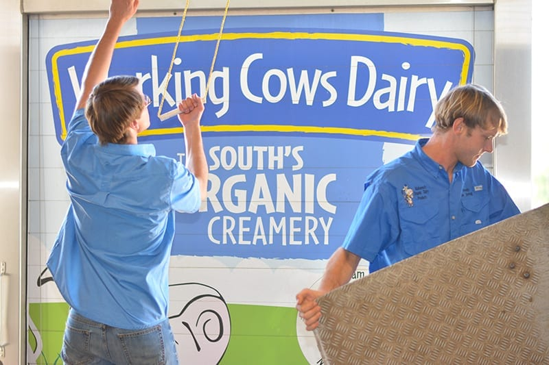 Brothers Mendy and Ike de Jong of Working Cows Dairy