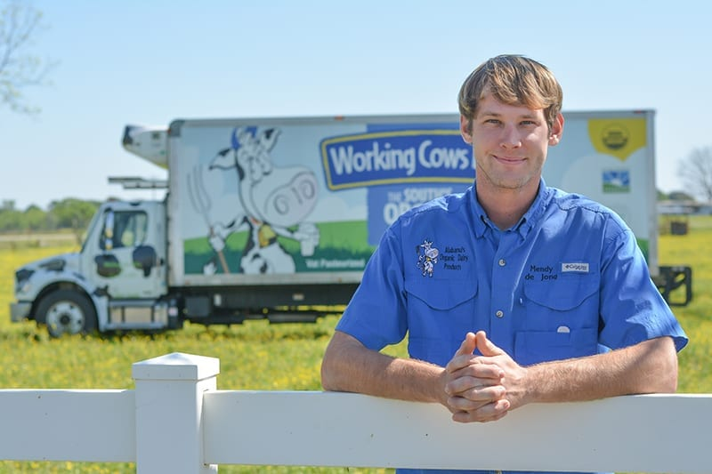 Mendy de Jong of Working Cows Dairy