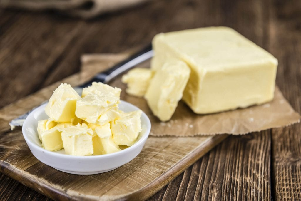 Unsalted grassfed butter from Working Cows Dairy