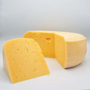 Grass fed 1-year aged organic gouda cheese