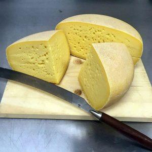 Pasture-Raised Grass Fe Organic Gouda Cheese
