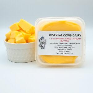 Organic Grass-fed Butter Unsalted